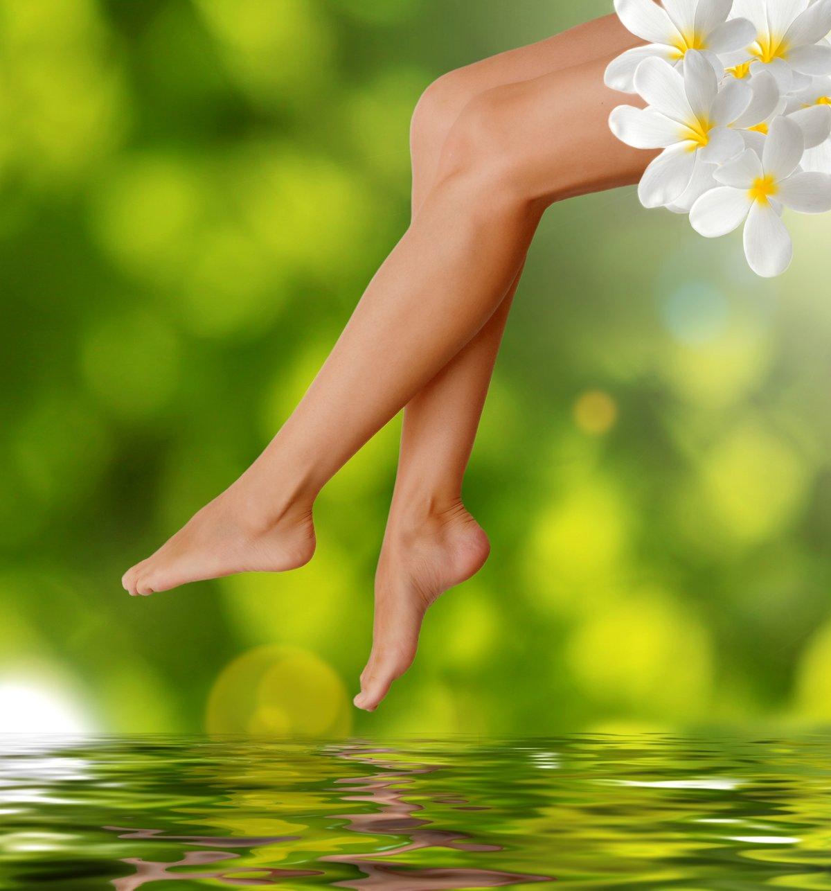 Диета для сохранения красивых ног